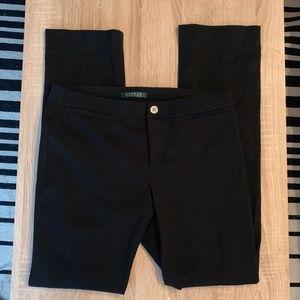 Ralph Lauren Black Straight Leg Pants